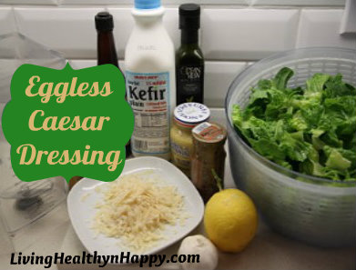 eggless caesar salad dressing